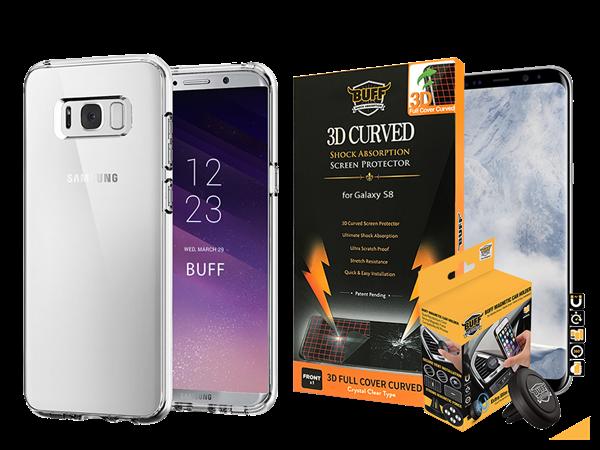 Buff Samsung Galaxy S8 Air Hybrid 3lü Set 2