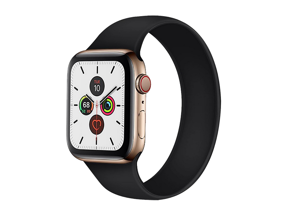 E2M Apple Watch 38-40 mm KRD-18 Silikon Solo Kordon S Beden-2
