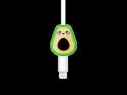 E2M Avokado Silikon Kablo Koruyucu