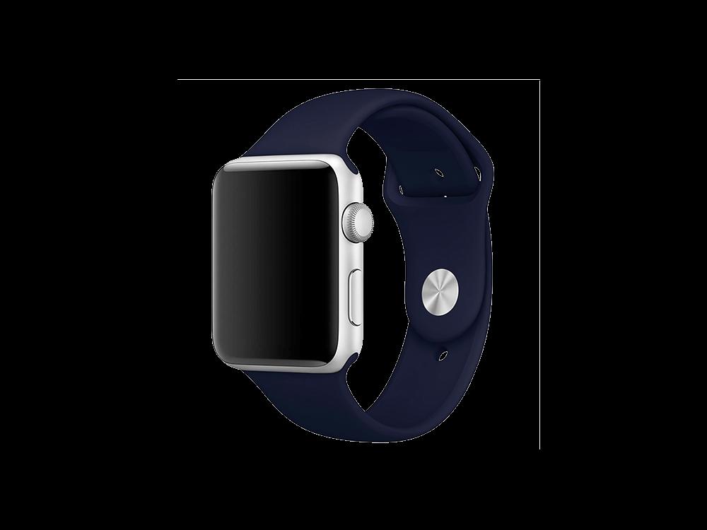 E2M Classic Apple Watch Silikon Kordon 38-40 mm - 1