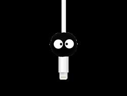 E2M Siyah Kafa Silikon Kablo Koruyucu