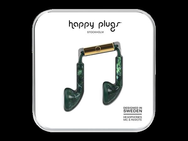 Happy Plugs Desenli Kulak İçi Kulaklık