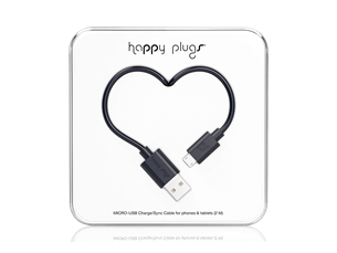 Happy Plugs Micro USB Data ve Şarj Kablosu