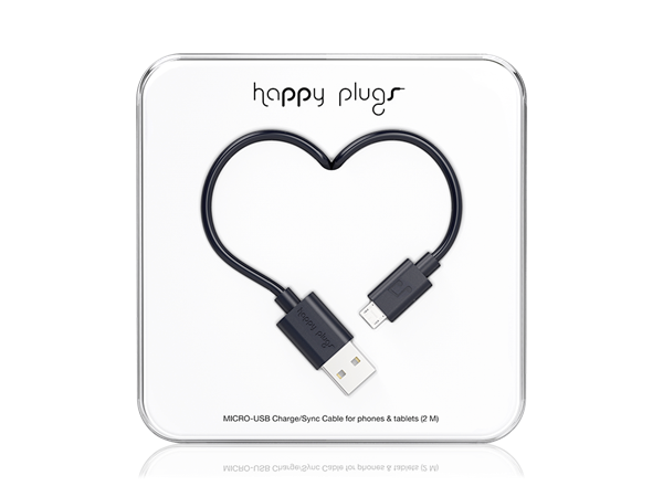 Happy Plugs Micro USB Data ve Şarj Kablosu