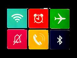 JUO 6'lı Yazılabilir NFC Etiketi