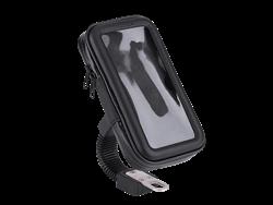JUO Bisiklet/Motosiklet Ayna Tipi Suya Dayanıklı Telefon Tutucu (Large)