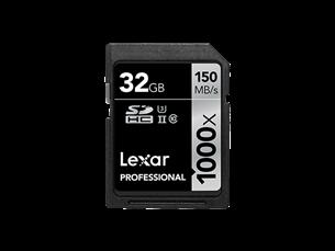 Lexar 1000X Hafıza Kartı 32 GB