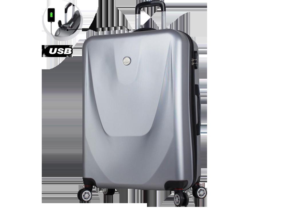 My Valice Smart Bag Energy USB Şarj Girişli Büyük Boy Abs Valiz