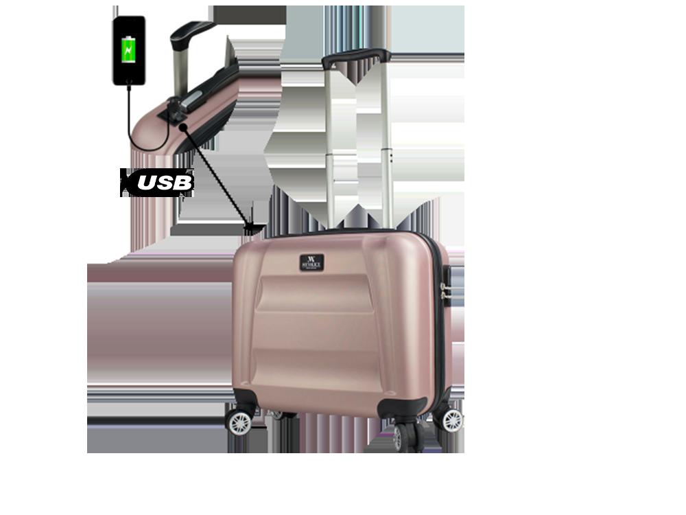 My Valice Smart Bag Exclusive USB Şarj Girişli Hostes Pilot Boy