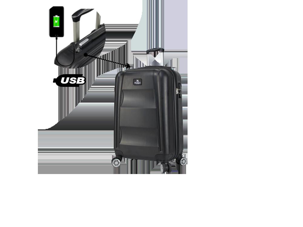 My Valice Smart Bag Exclusive USB Şarj Girişli Kabin Boy Valiz