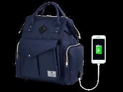 My Valice Smart Bag Happy Mom Usb'li Anne Bebek Bakım ve Sırt Çantası
