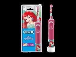 Oral-B D100 Kids Princess Şarj Edilebilir Çocuk Diş Fırçası