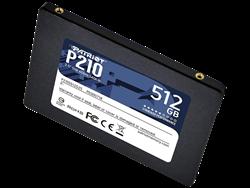 Patriot P210 512GB P210S512G25 520MB/430MB/s Sata 3 SSD