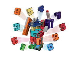 Pocket Morphers Dönüşebilen Numaralar 10'lu Set 6888-11