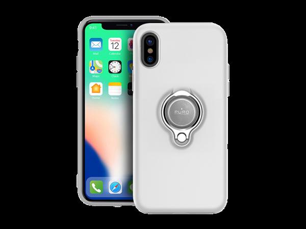 Puro iPhone X Manyetik Halkalı Koruyucu Kılıf
