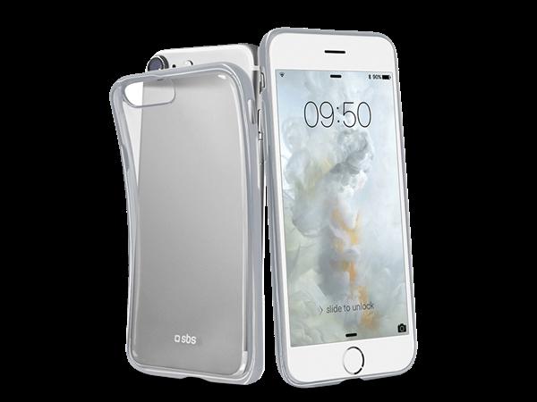 SBS iPhone 7 Gold Serisi Silikon Kılıf