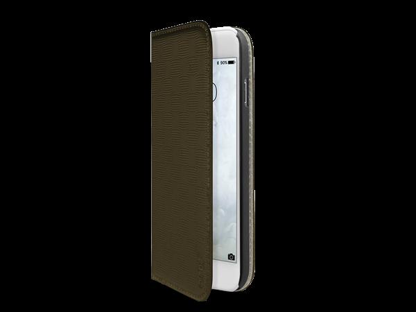 SBS iPhone 7 Kart Bölmeli Kapaklı Kılıf