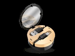 SBS Ladies Aynalı Micro USB Şarj ve Data Kablosu