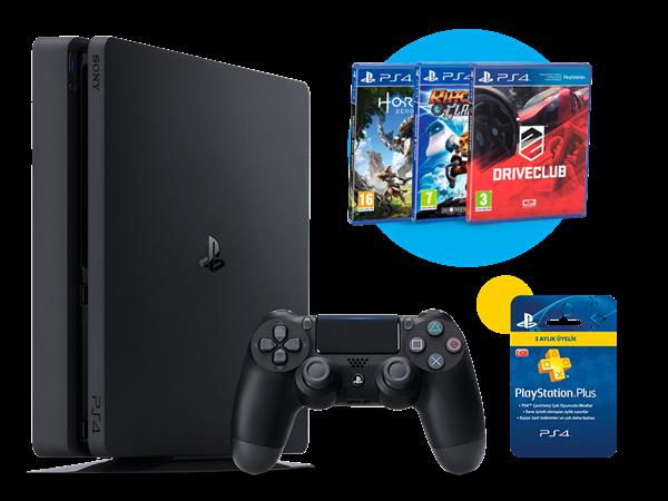 PlayStation 4 500 GB Avantajlı Paket