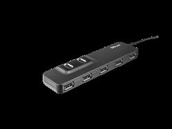 Trust 20576 Oila 7 Port Çoklayıcı ve Güç Adaptörü