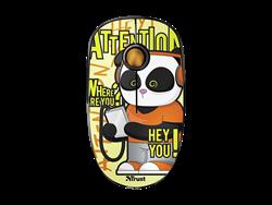 Trust 23337 Sketch Sessiz Kablosuz Panda Mouse