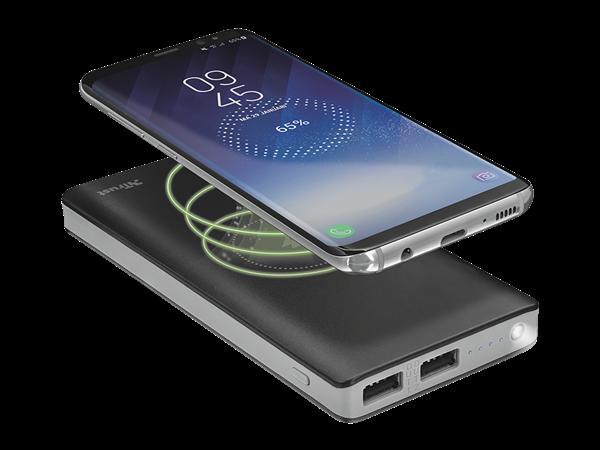 Trust Primo Kablosuz Şarj Özellikli Taşınabilir Şarj Cihazı 8000 mAh