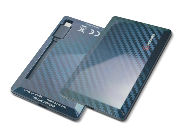 Tuncmatik Energycard Micro Taşınabilir Şarj Cihazı 1400 mAh
