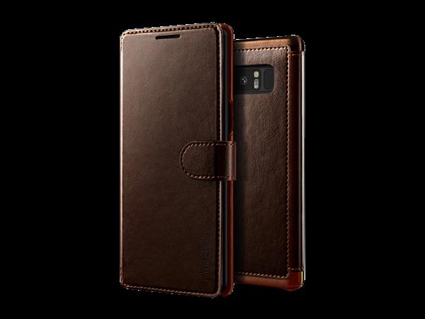 Verus Galaxy Note 8 Deri Cüzdan Koruyucu Kılıf
