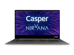 Casper Nirvana C400.5005-4C00E Intel Core i3-5005U / 4 GB Ram / 128GB M2 SSD / Windows 10 / 14 inc
