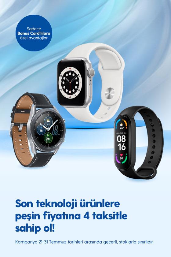 Giyilebilir Teknoloji-4 Taksit-21-31 Temmuz
