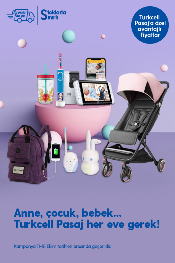 Anne- bebek- çocuk kampanyası