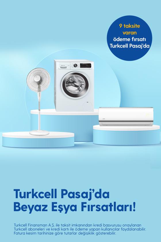Turkcell Pasaj'da Beyaz Eşya Fırsatları!