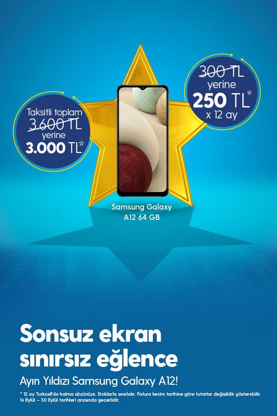 Ayın Yıldızı Samsung A12