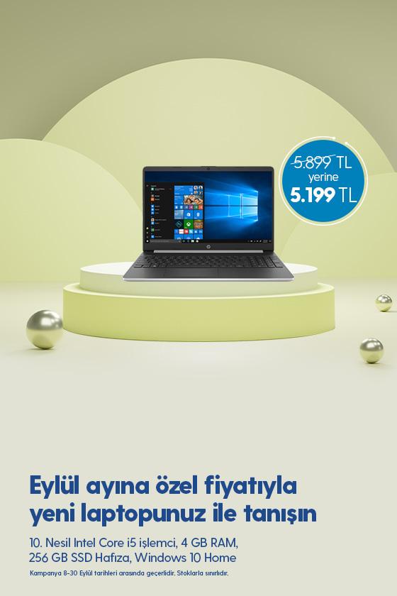 HP Bilgisayar 8-30 Eylül