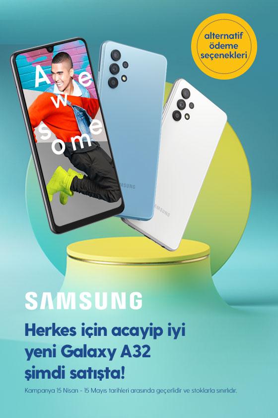 Samsung Galaxy A32 Lansman