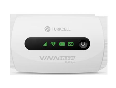 Turkcell 10 fős mobil-wifi modem