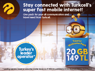 Local Sim Card For Your Vacation - TURKCELL