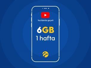 Satın Al Youtube Paketi 6GB