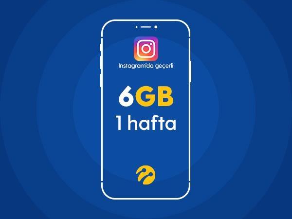 Instagram Paketi 6GB