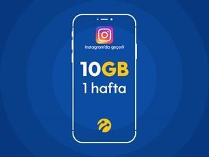 Satın Al Instagram Paketi 10GB