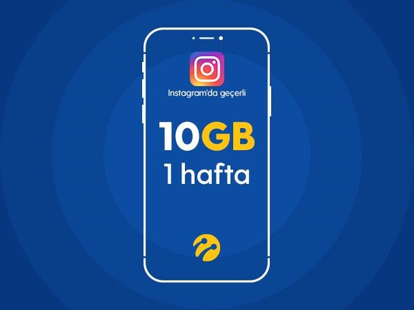 Instagram Paketi 10GB
