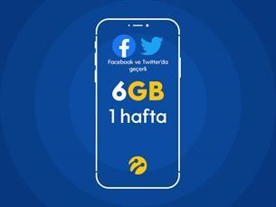 Satın Al Sosyal Paket 6GB