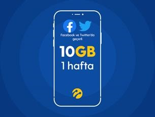Satın Al Sosyal Paket 10GB