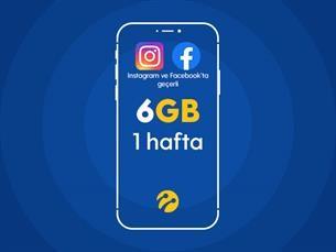 Satın Al Sosyal Paylaşım Paketi 6GB