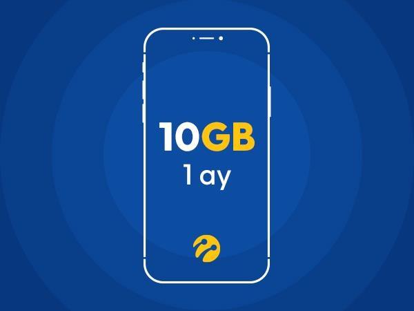 10 GB İnternet Paketi+10 GB Hafta Sonu Hediyeli