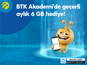 BTK Akademi 6 GB Kampanyası