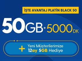 İşte Avantaj Platin Black 50