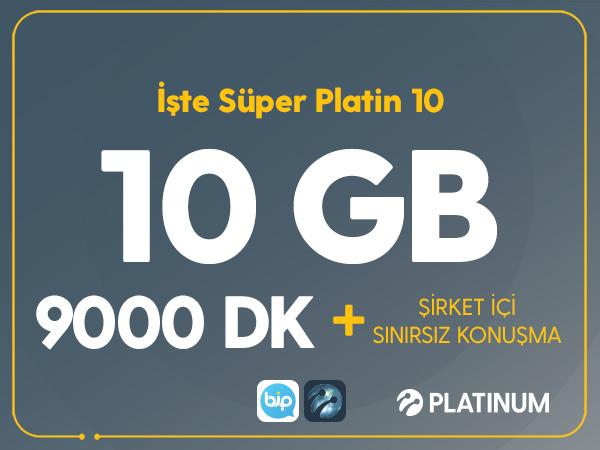 İşte Süper Platin 10