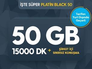 Satın Al İşte Süper Platin Black 50
