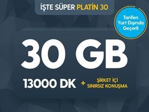 Satın Al İşte Süper Platin Black 30